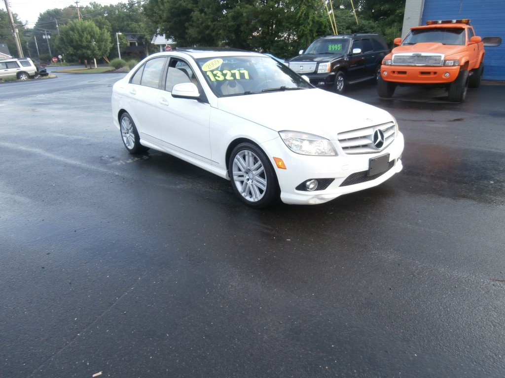 2009 mercedes benz c300 over the edge automotive for 2009 mercedes benz c300 for sale